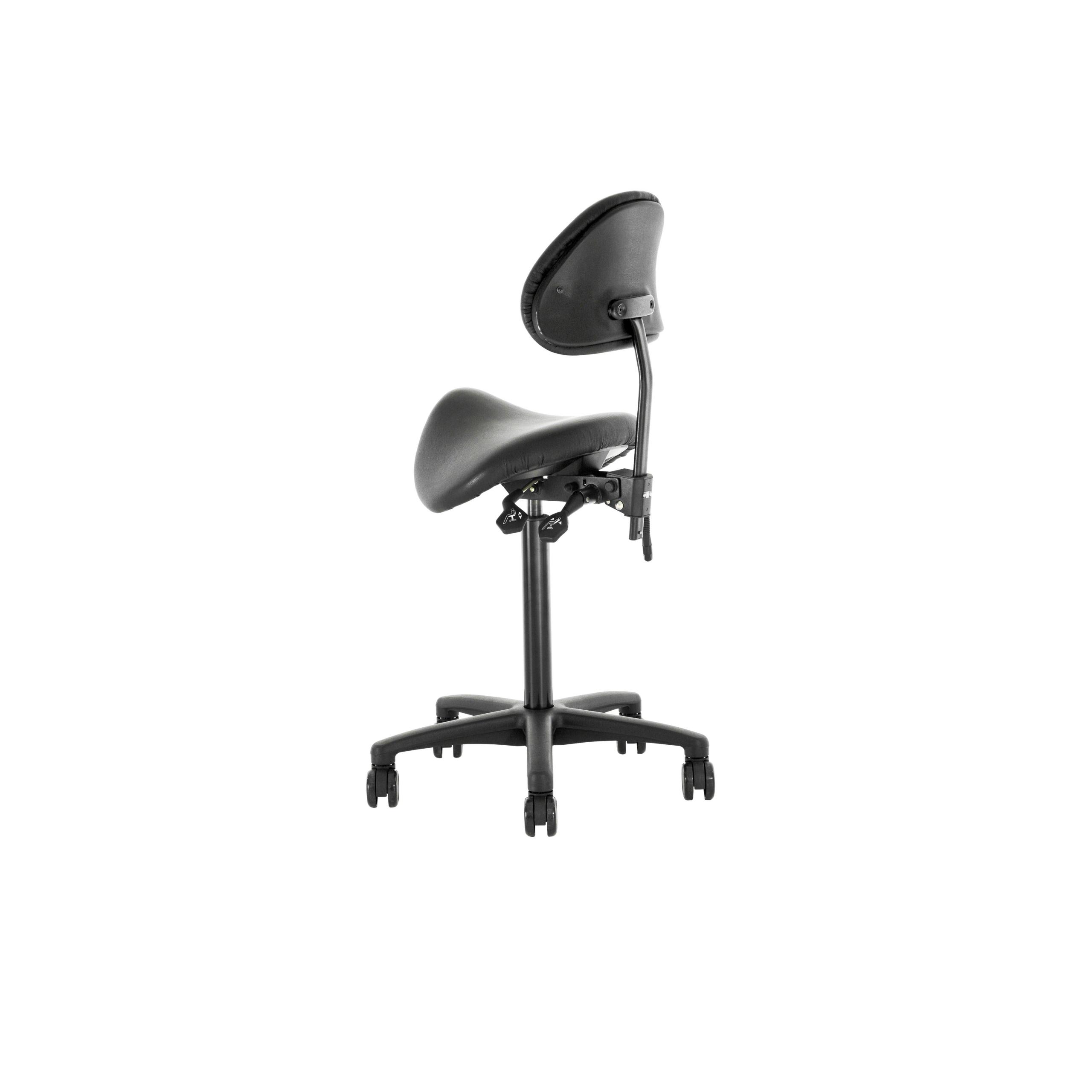 Saddle seat Kontorsstol med sadelsits produktbild 2