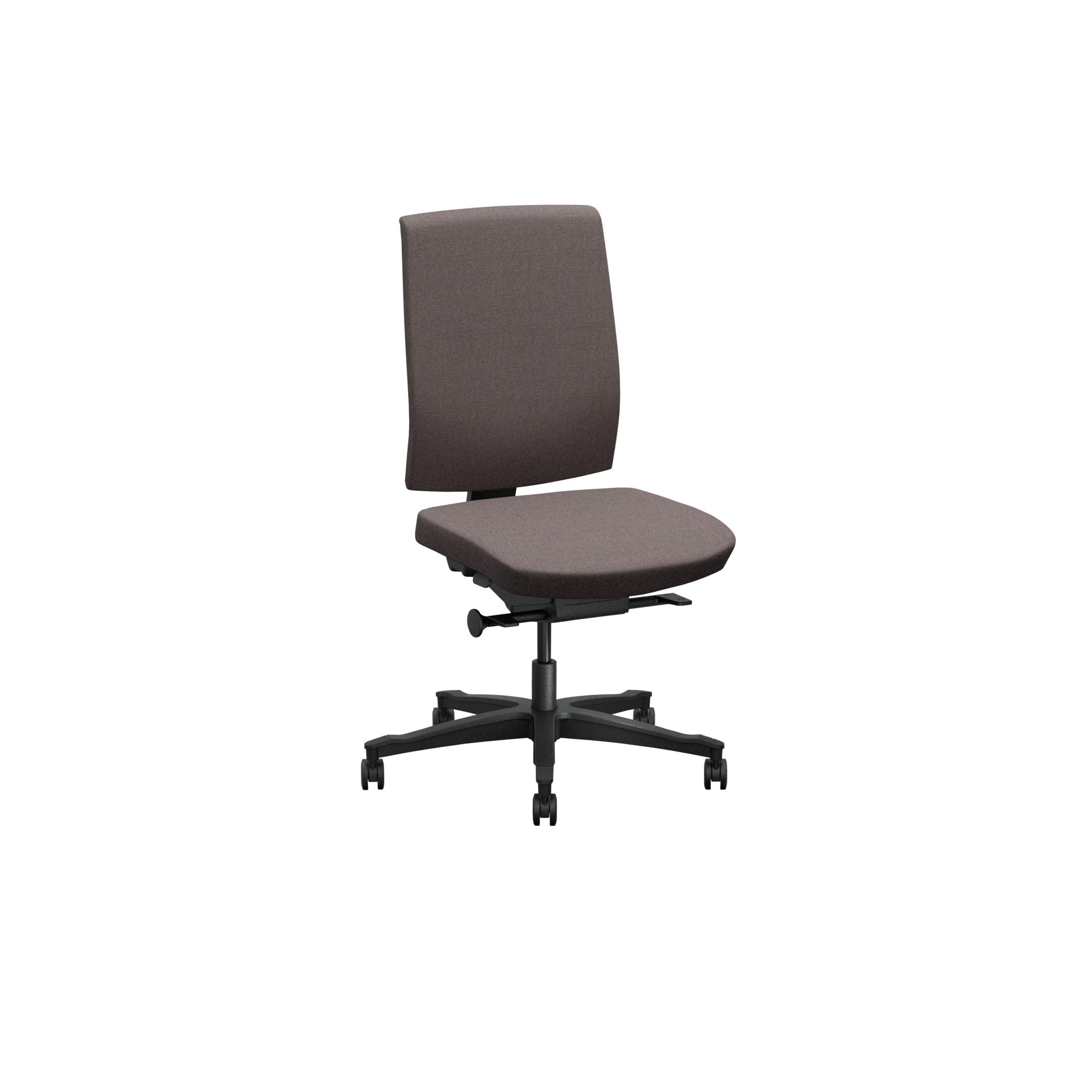 One Kontorsstol med klädd rygg produktbild 3