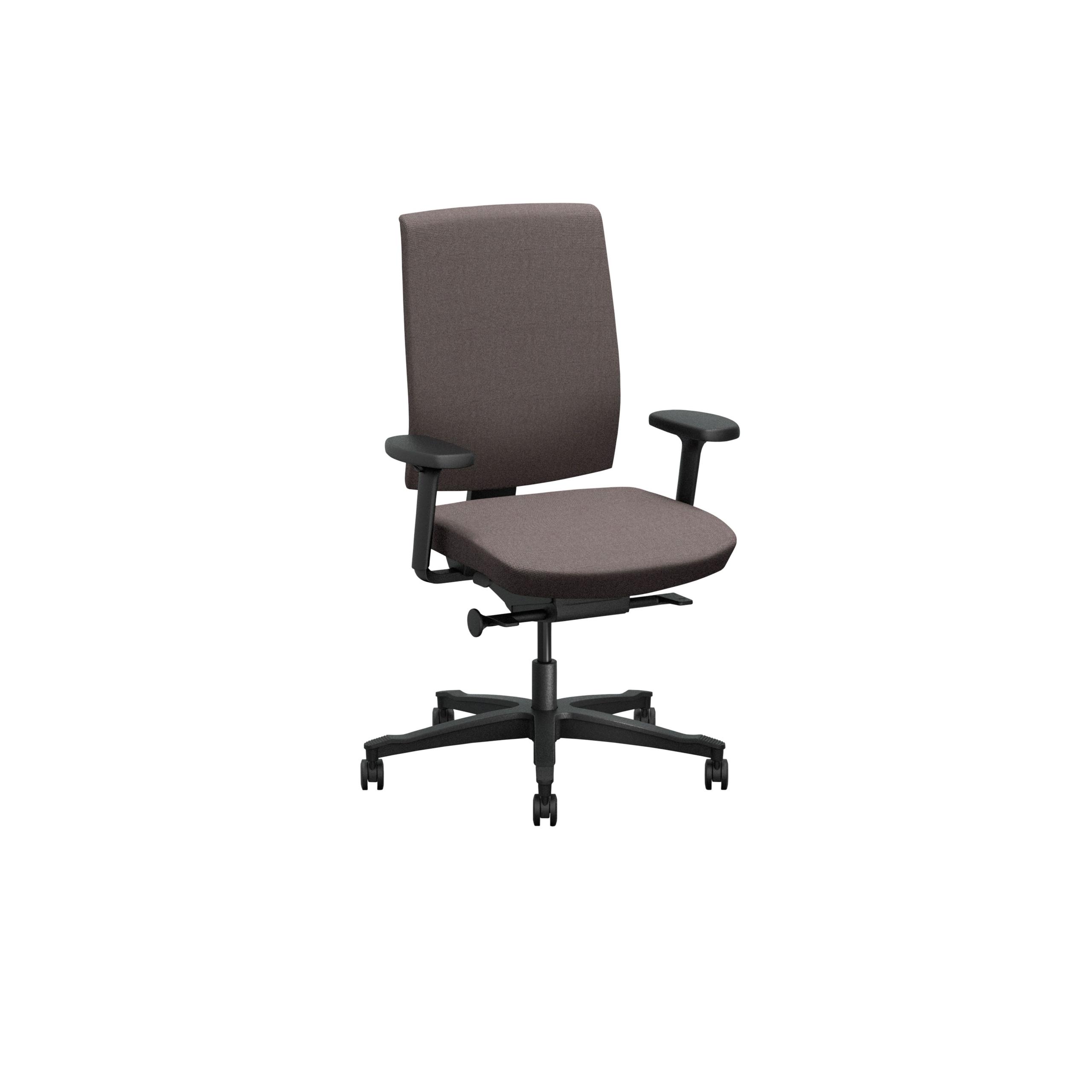 One Kontorsstol med klädd rygg produktbild 4