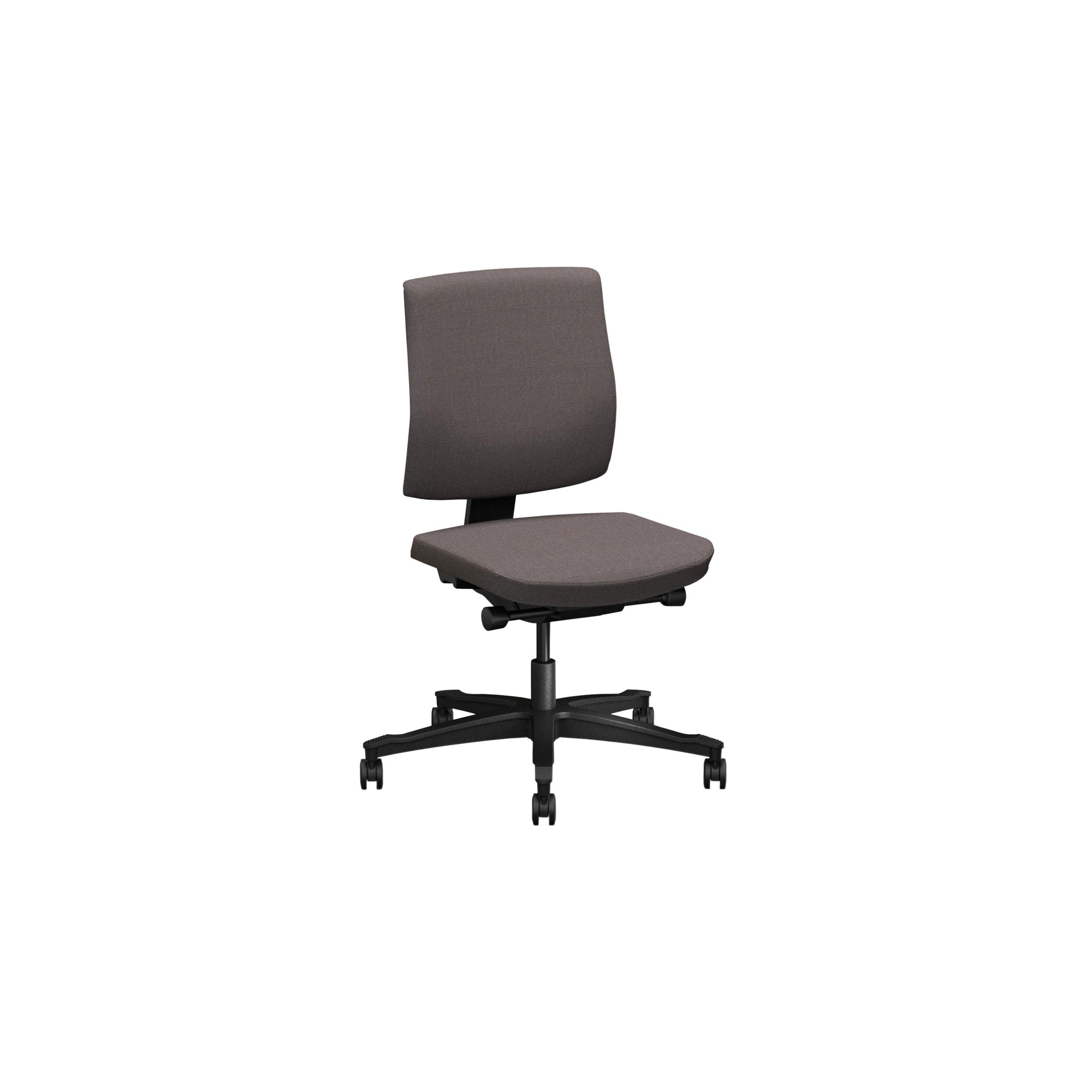 One Kontorsstol med klädd rygg produktbild 5