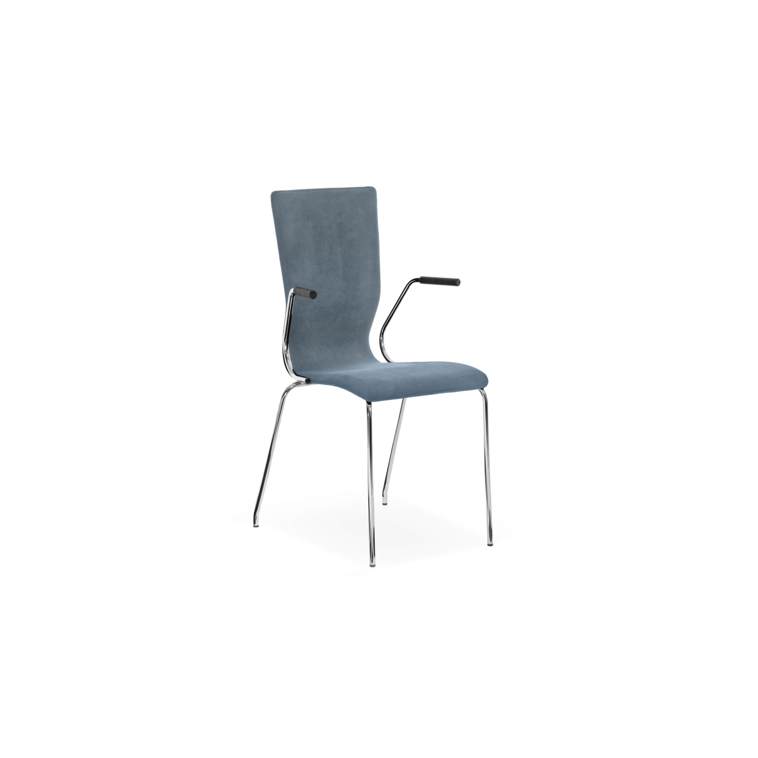 Graf Stol med metallben produktbild 1
