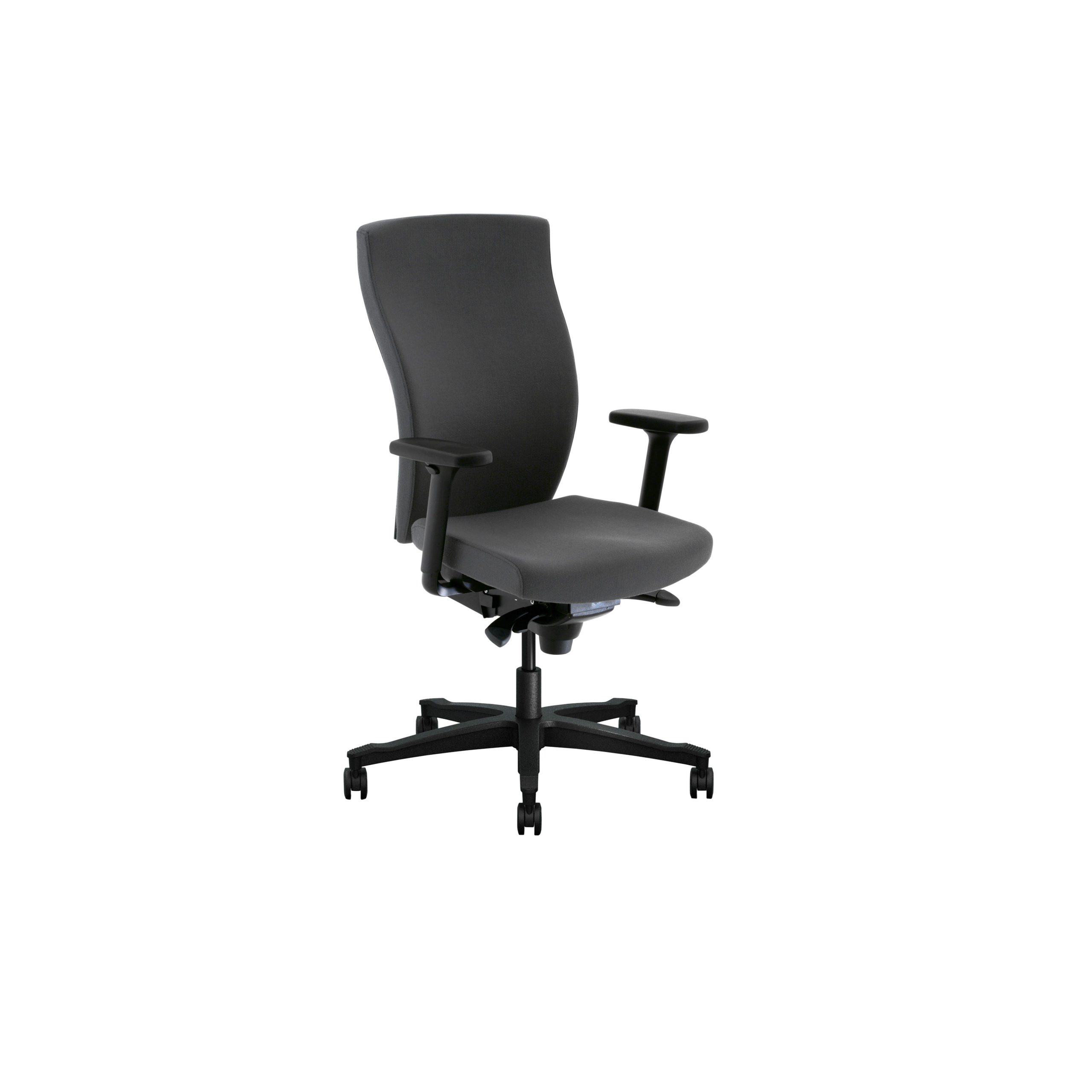 Splice Office chair with upholstered back