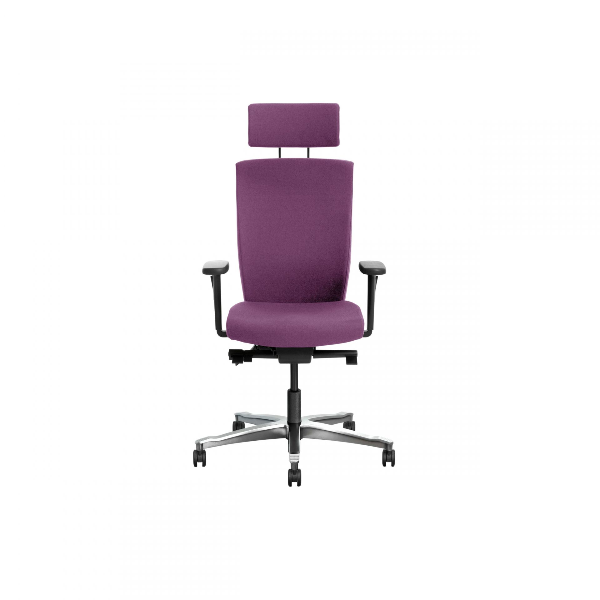 Splice Office chair with upholstered back product image 3