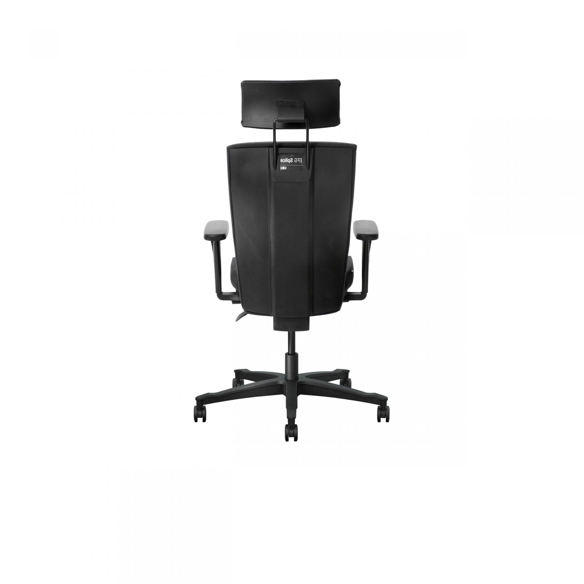 Splice Office chair with upholstered back product image 2