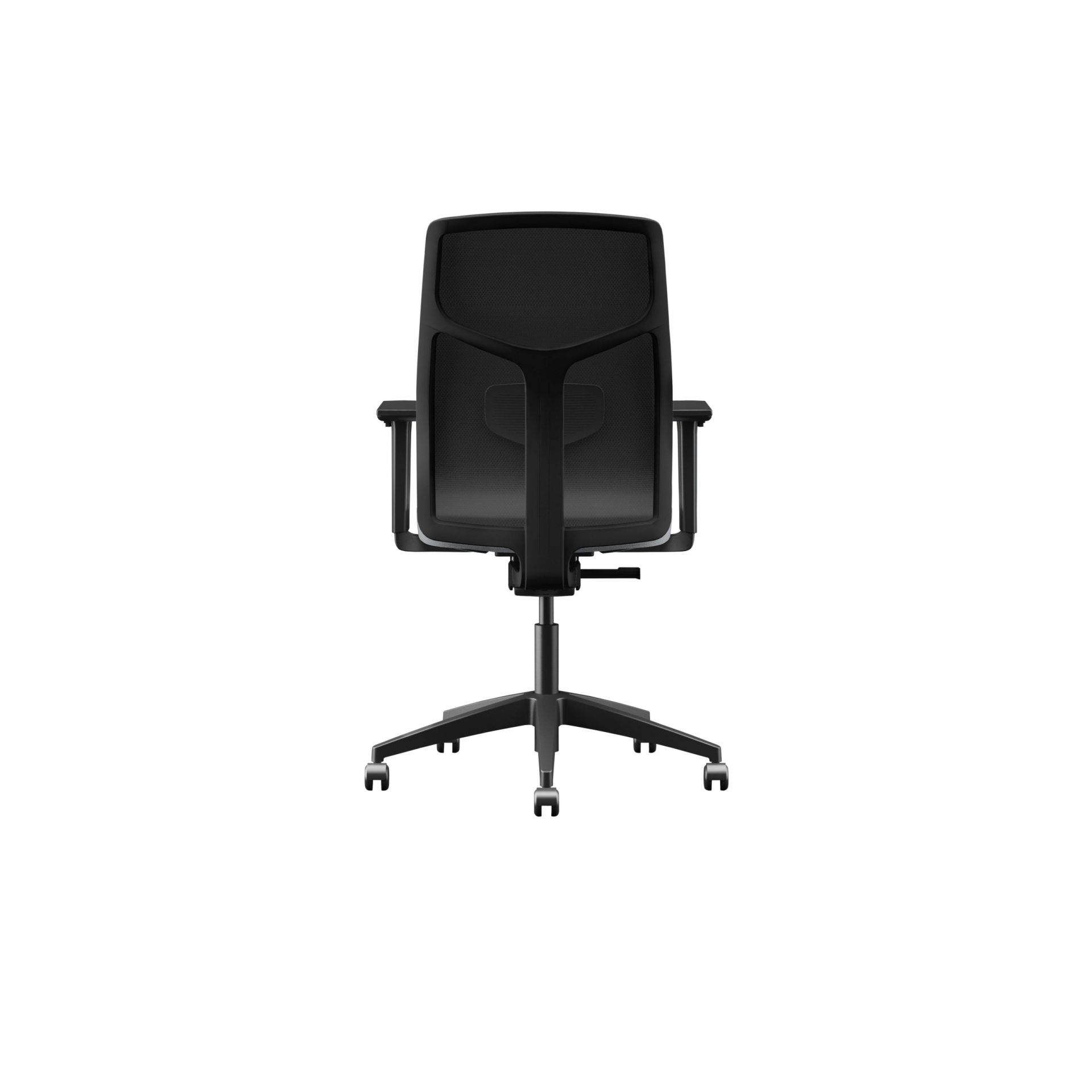 Yoyo Office chair with open mesh back product image 2