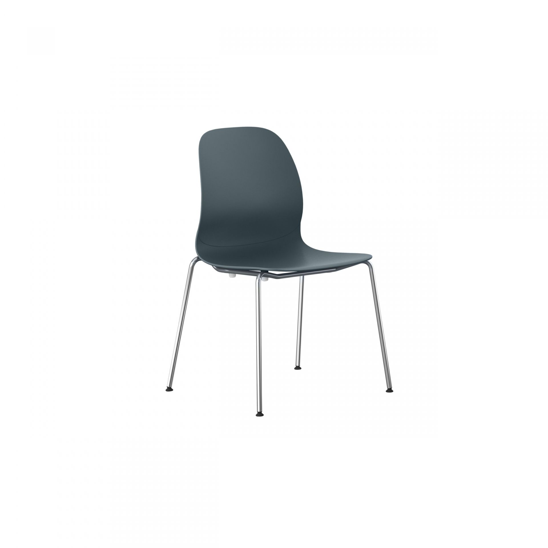 Archie Chair with metal legs