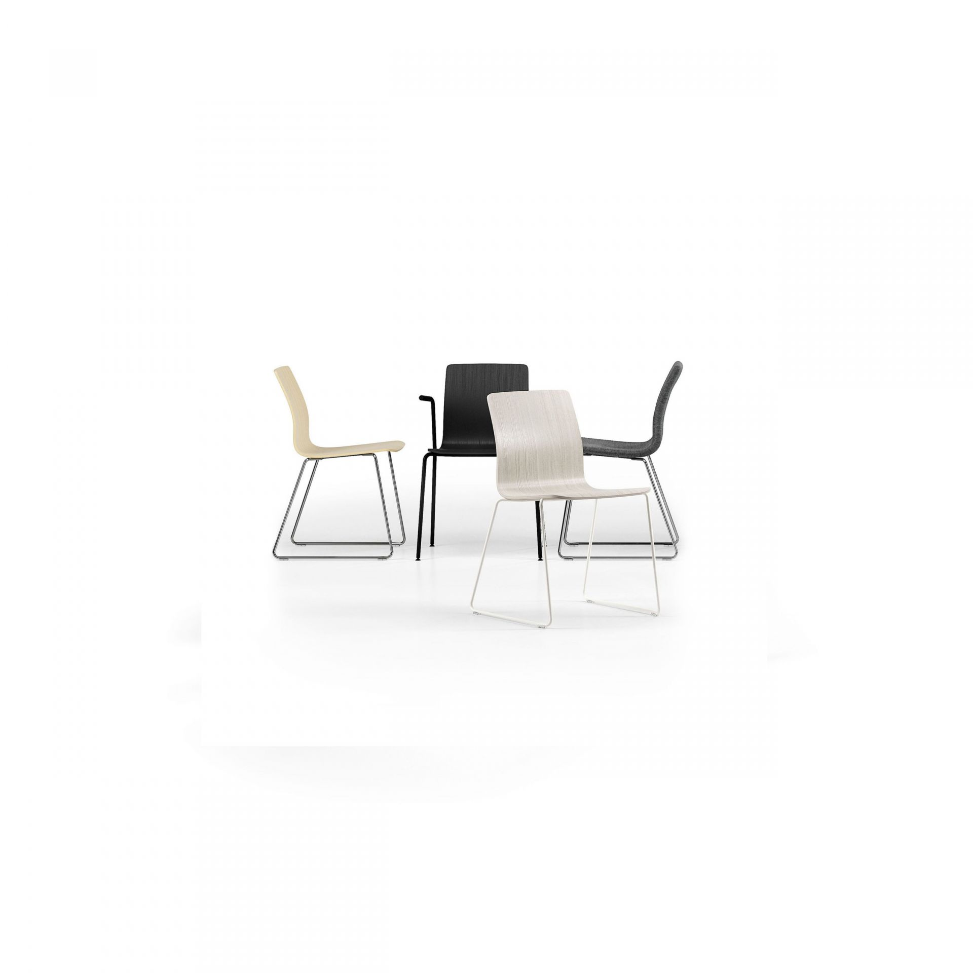 Nova Chair with metal legs product image 5