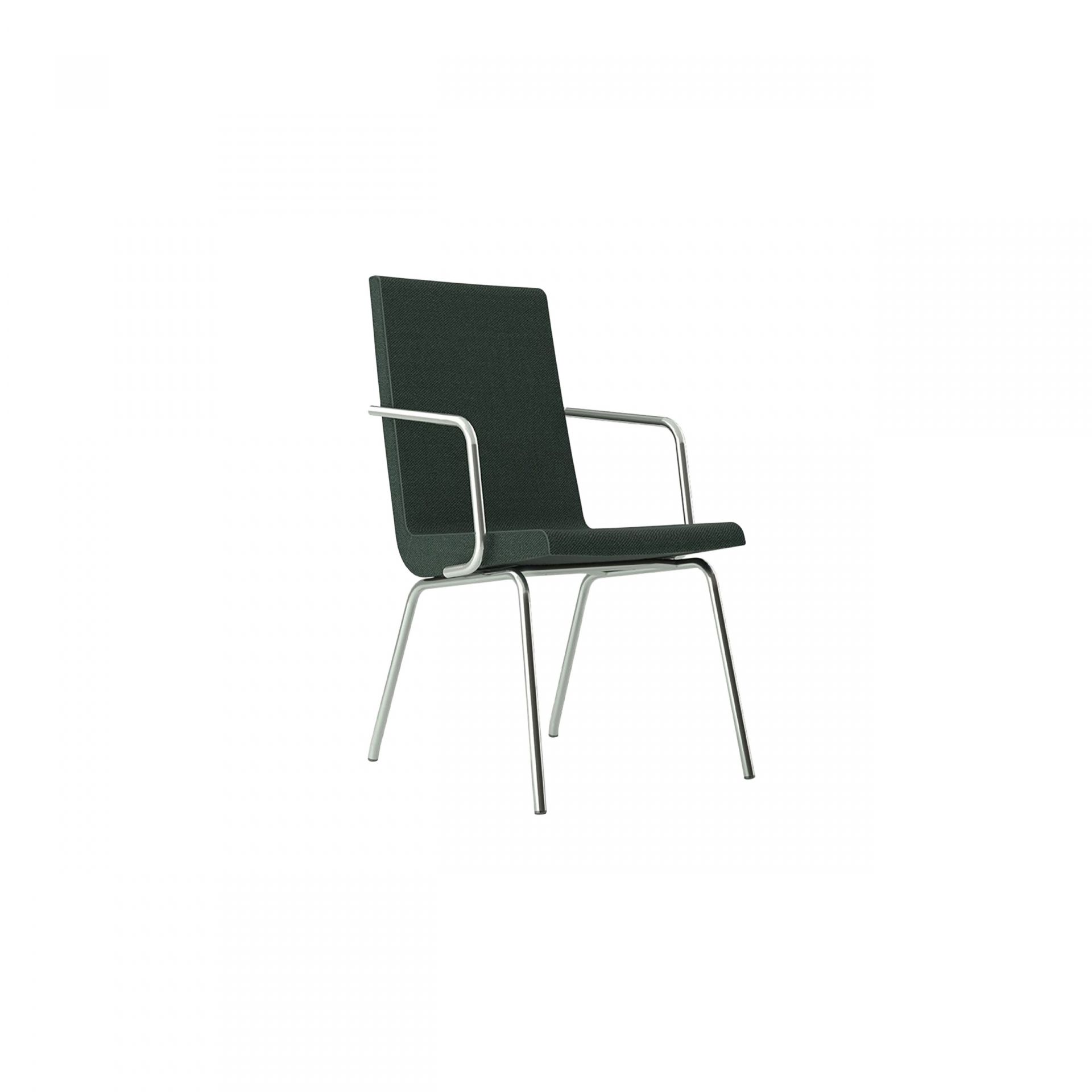 Woods Chair with metal legs product image 2