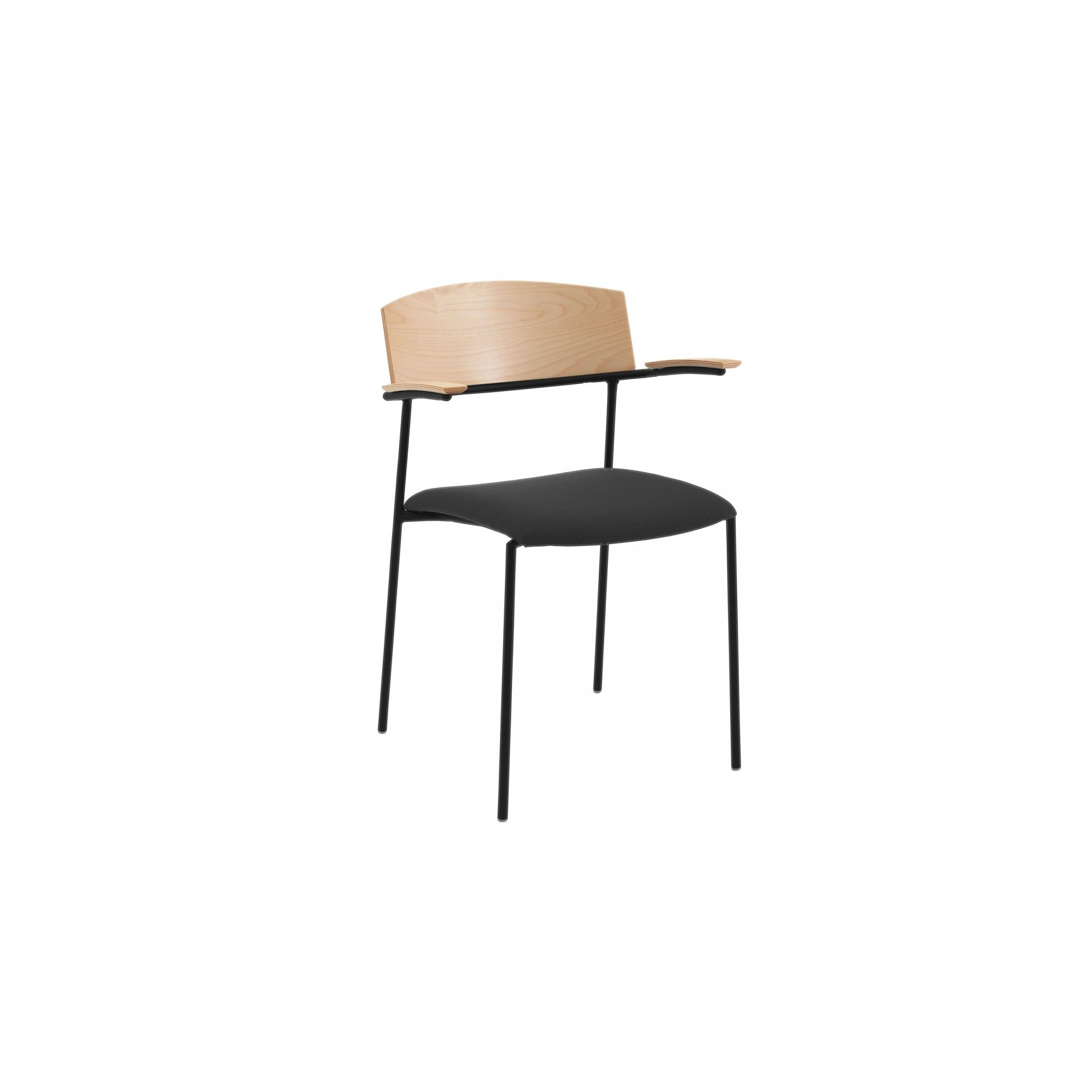 Offy Chair with metal legs product image 1