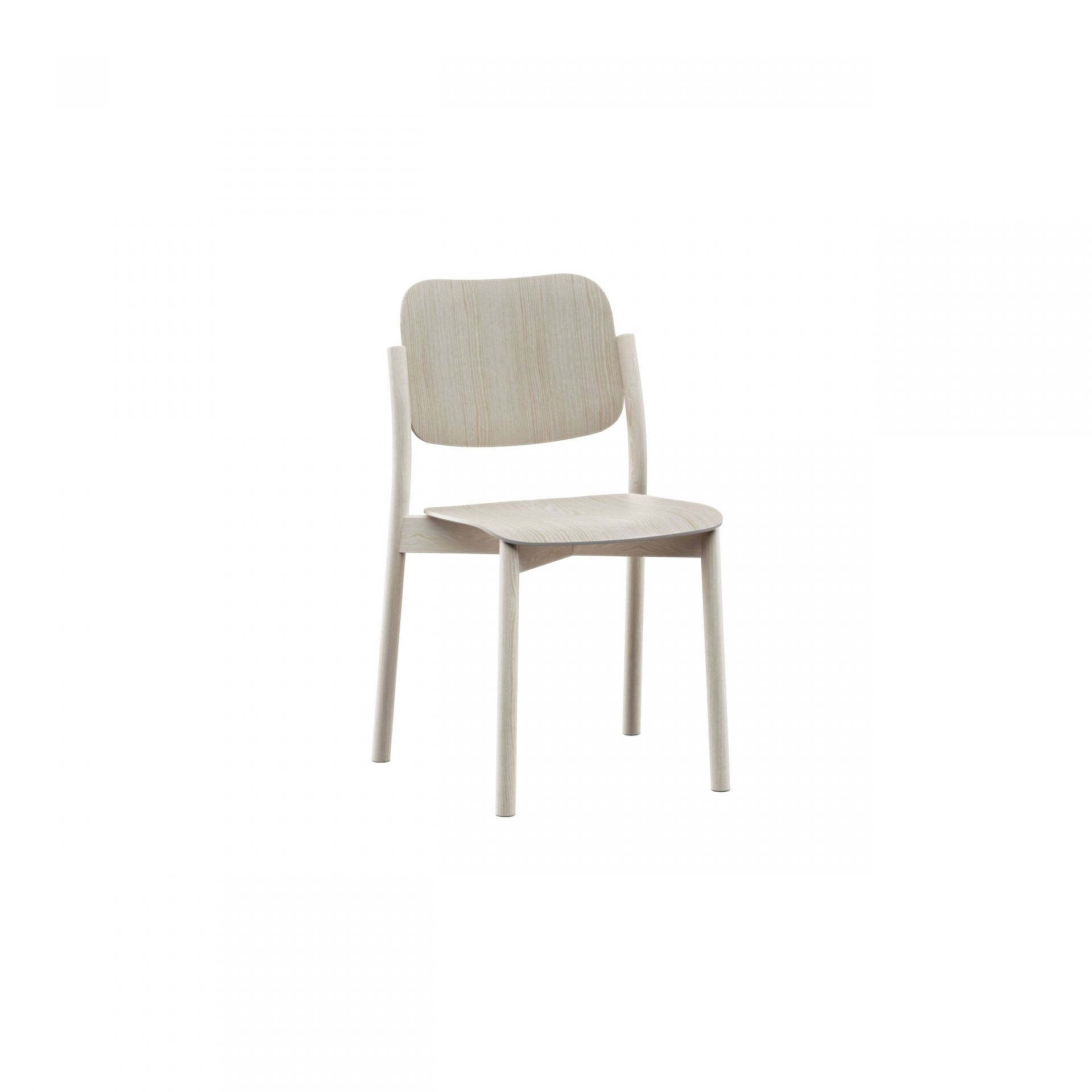 Zoe Wooden chair product image 3