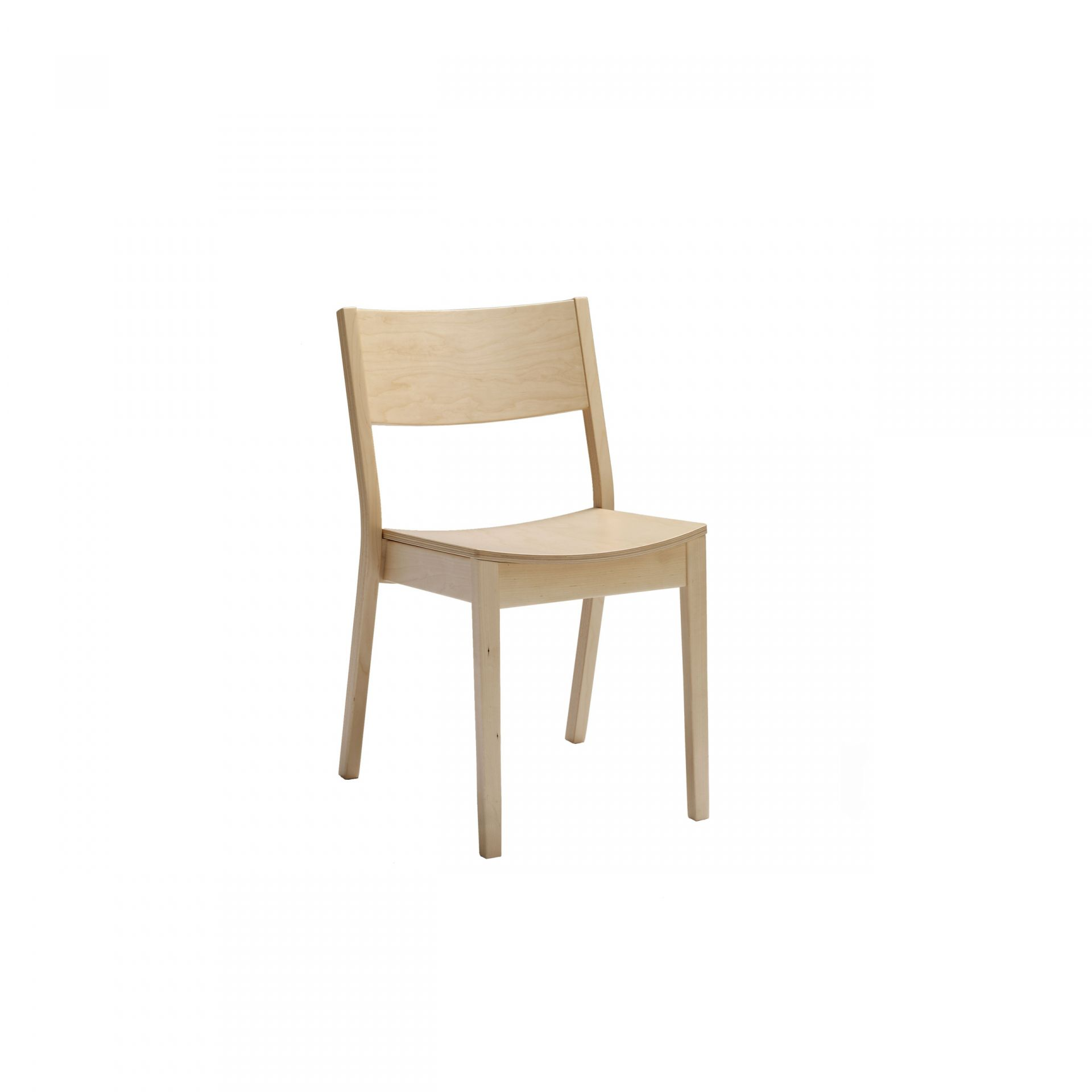 Monte Chair with wooden legs product image 1