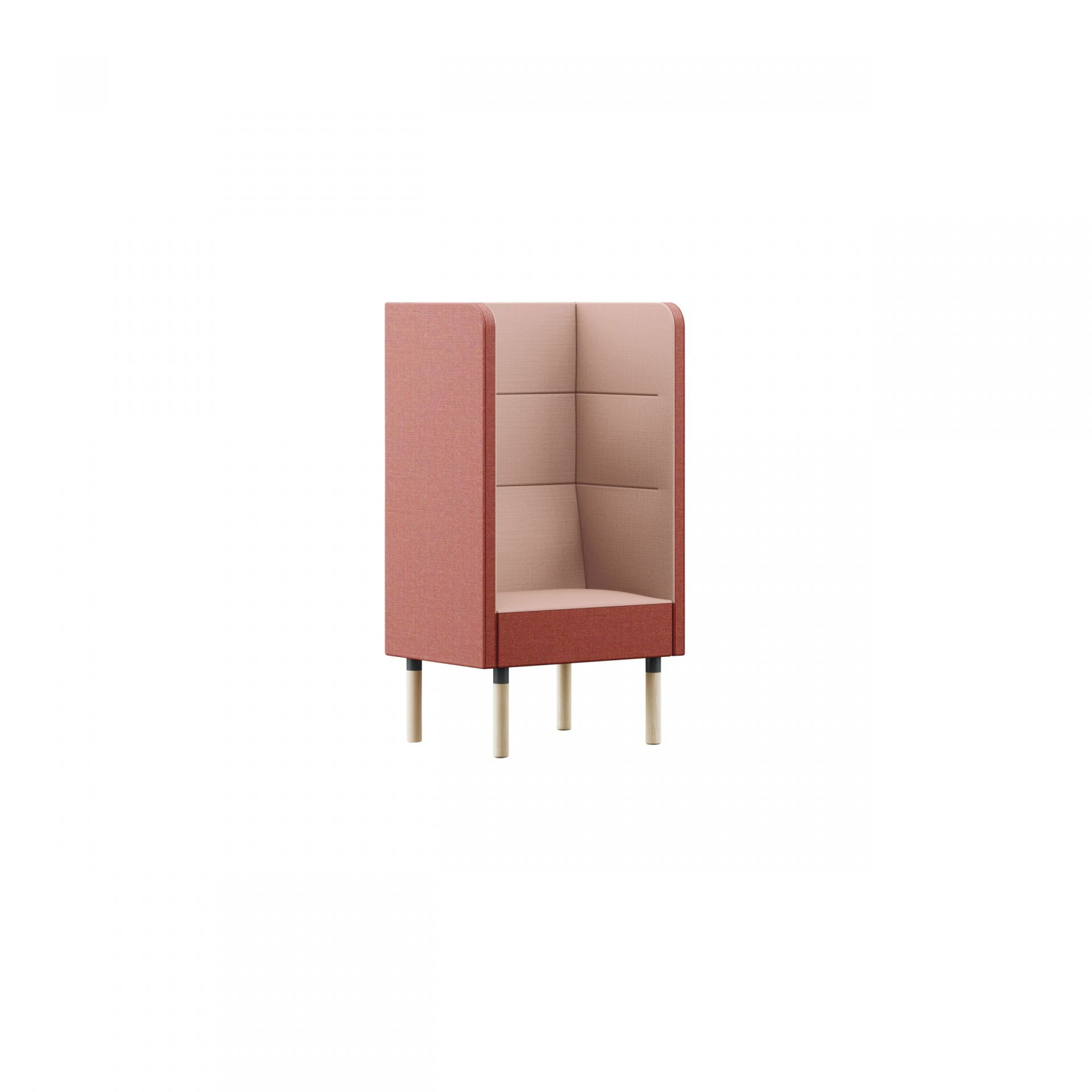 Mingle Sofa with wooden legs product image 4