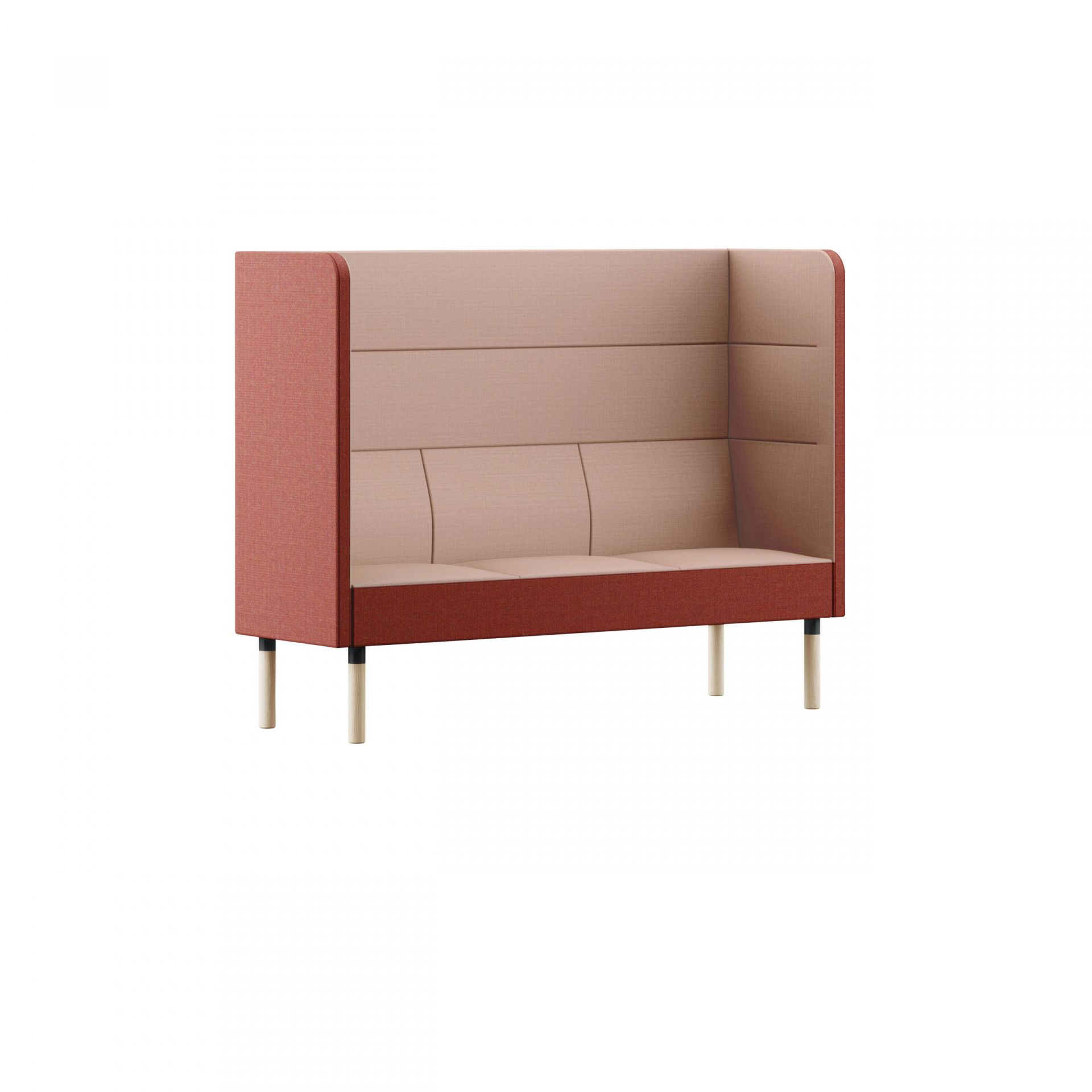 Mingle Sofa with wooden legs product image 2