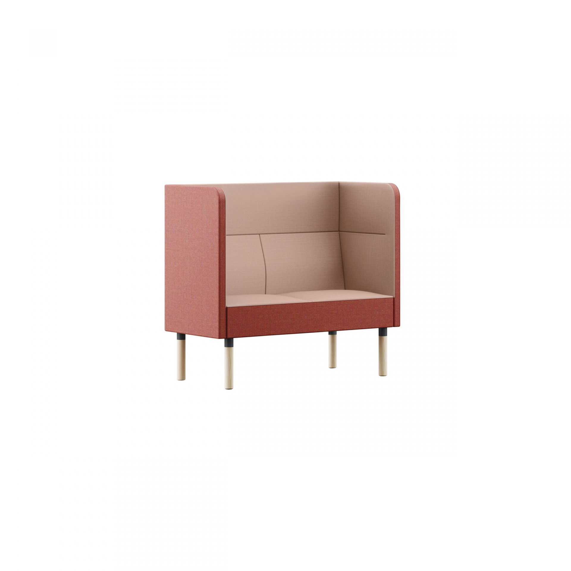 Mingle Sofa with wooden legs product image 3