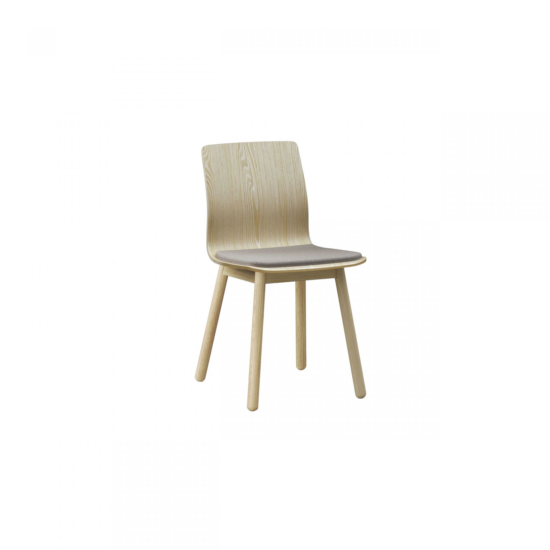 Nova Chair with wooden legs