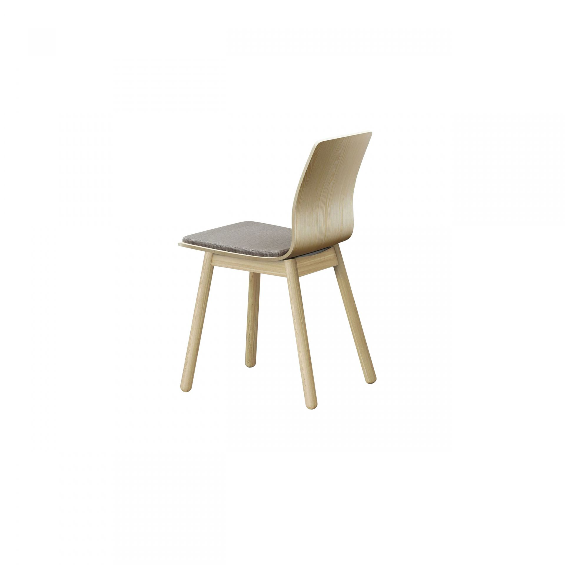 Nova Chair with wooden legs product image 2