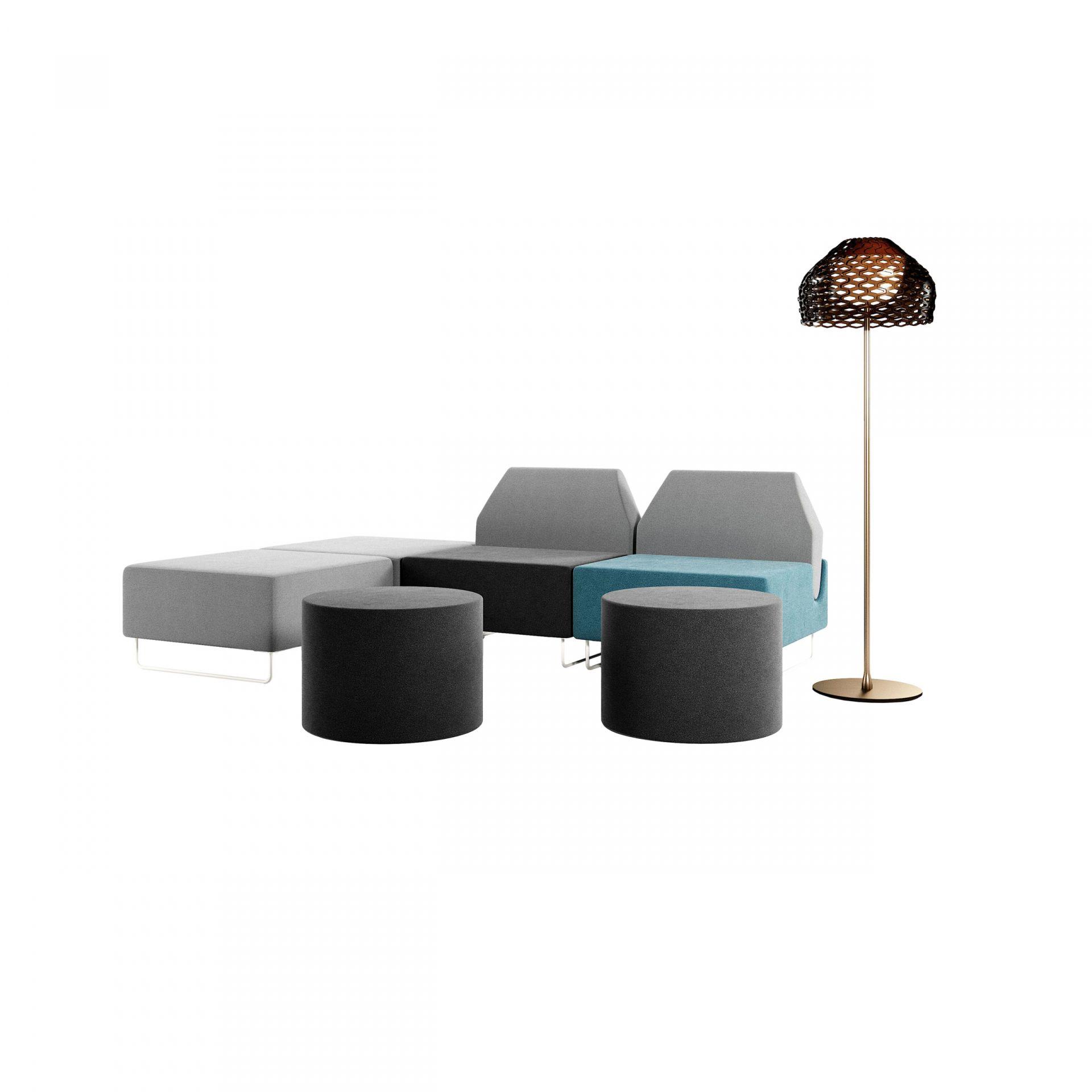 Intouch Moduluppbyggd soffa produktbild 2