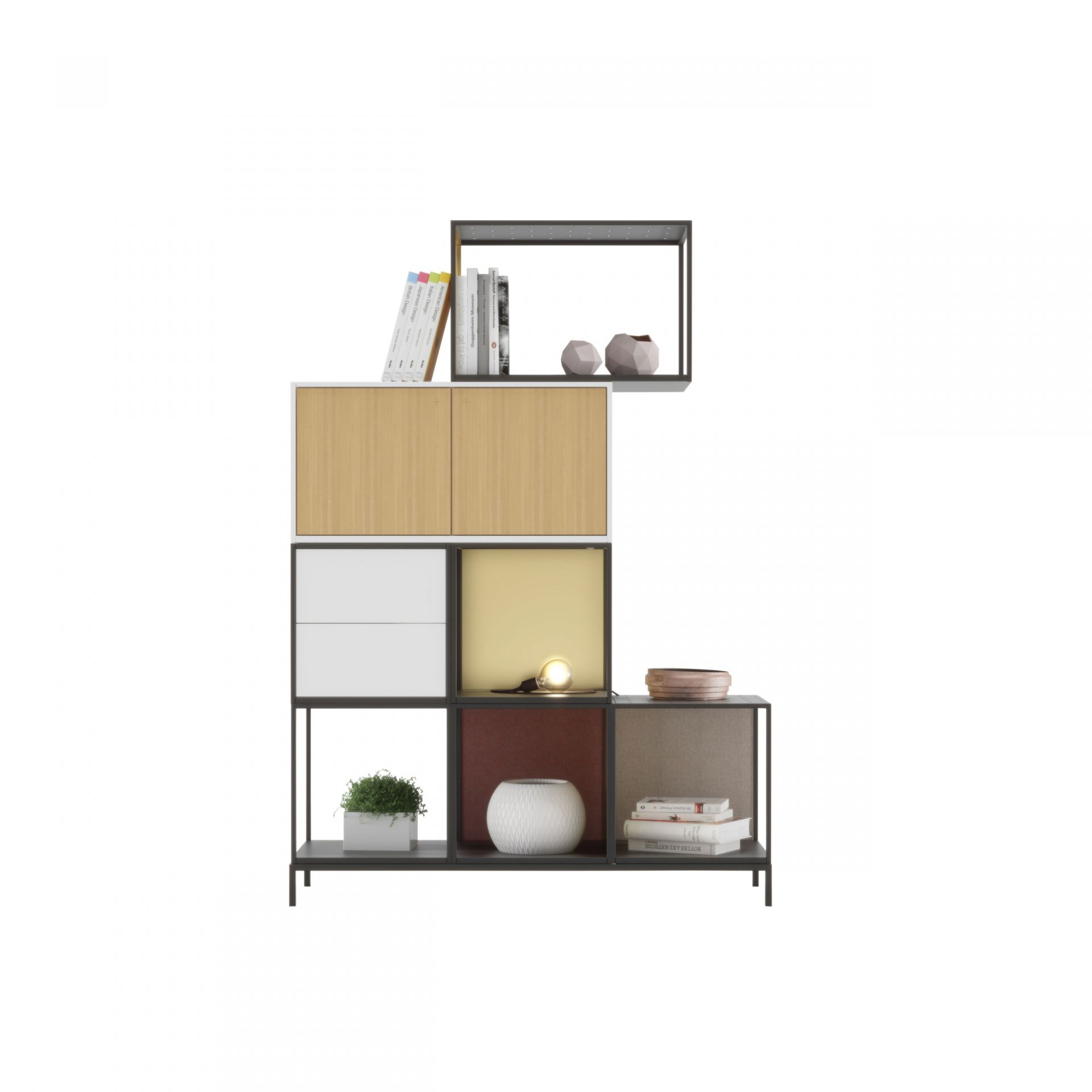 Create Modular storage, metal frame