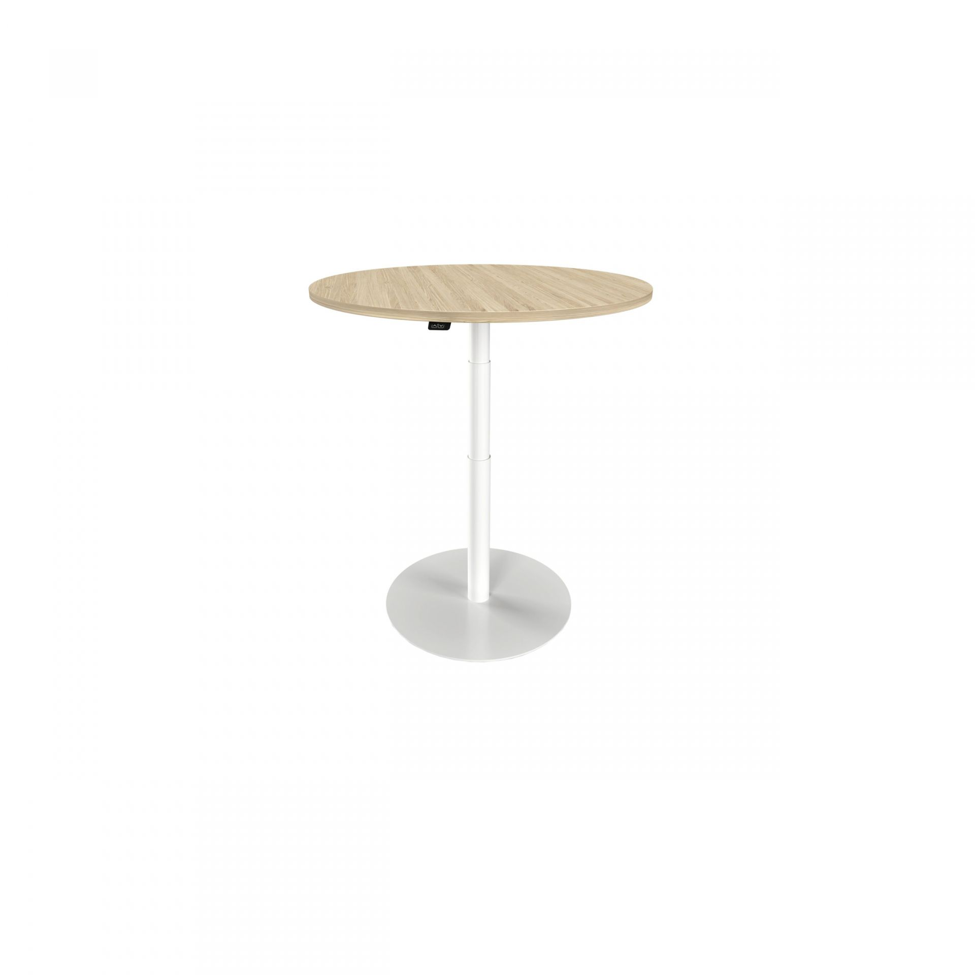 Solo Pillar table with round base