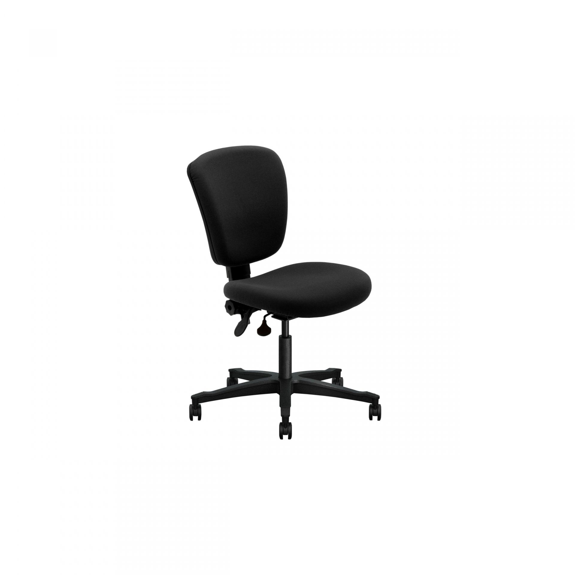 Team spirit Office chair with upholstered back
