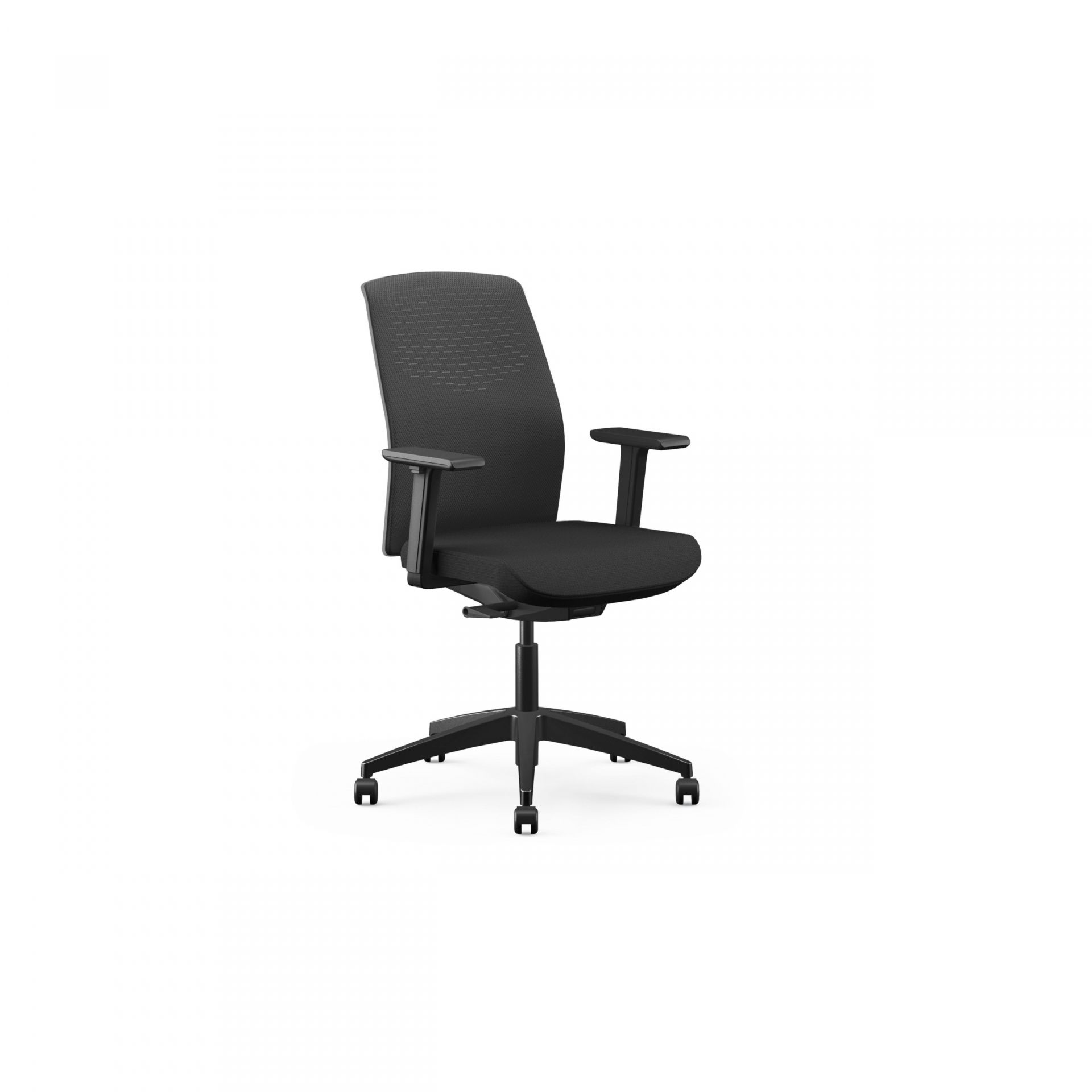 Yoyo Office chair with covered mesh back