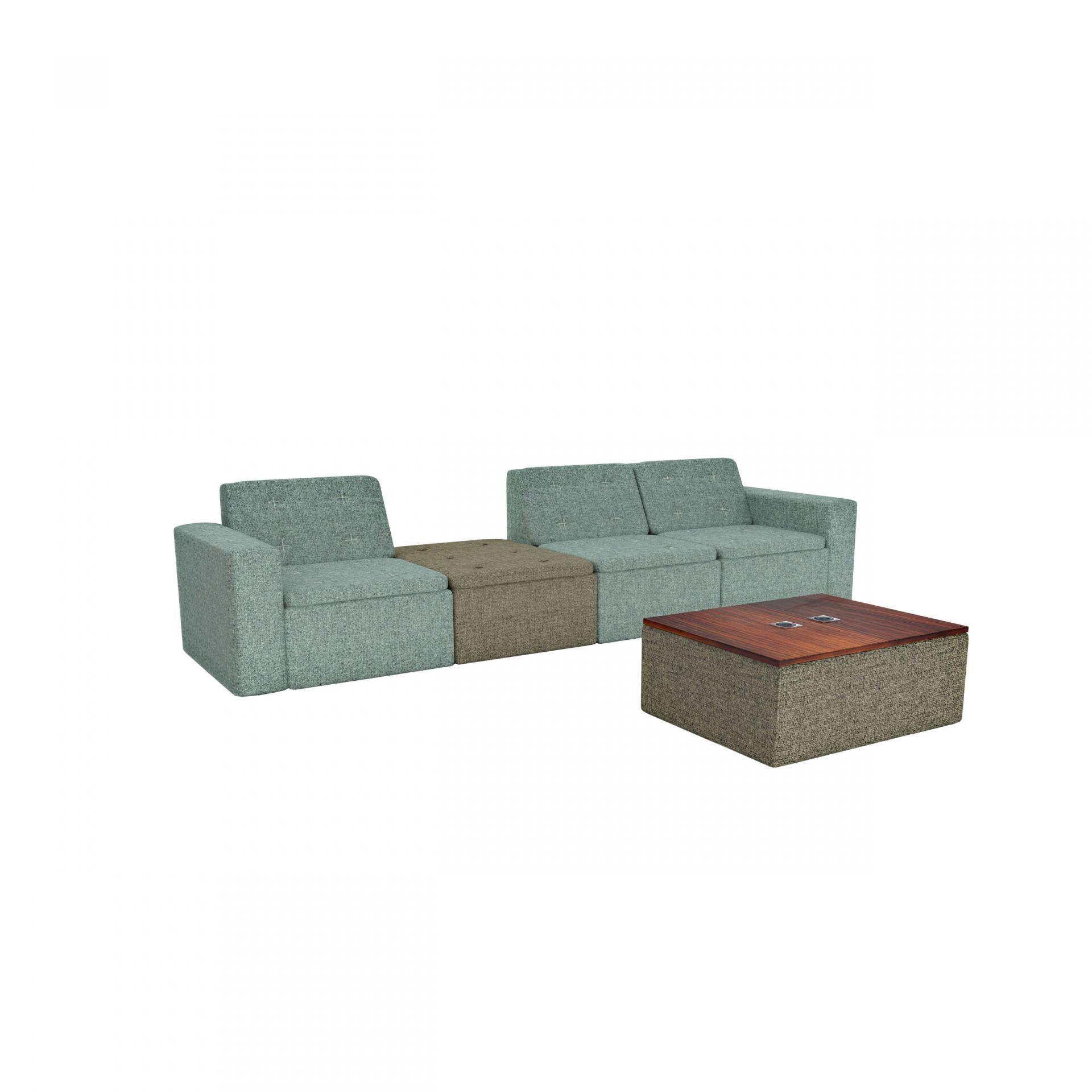 Hippione Modular sofa product image 1