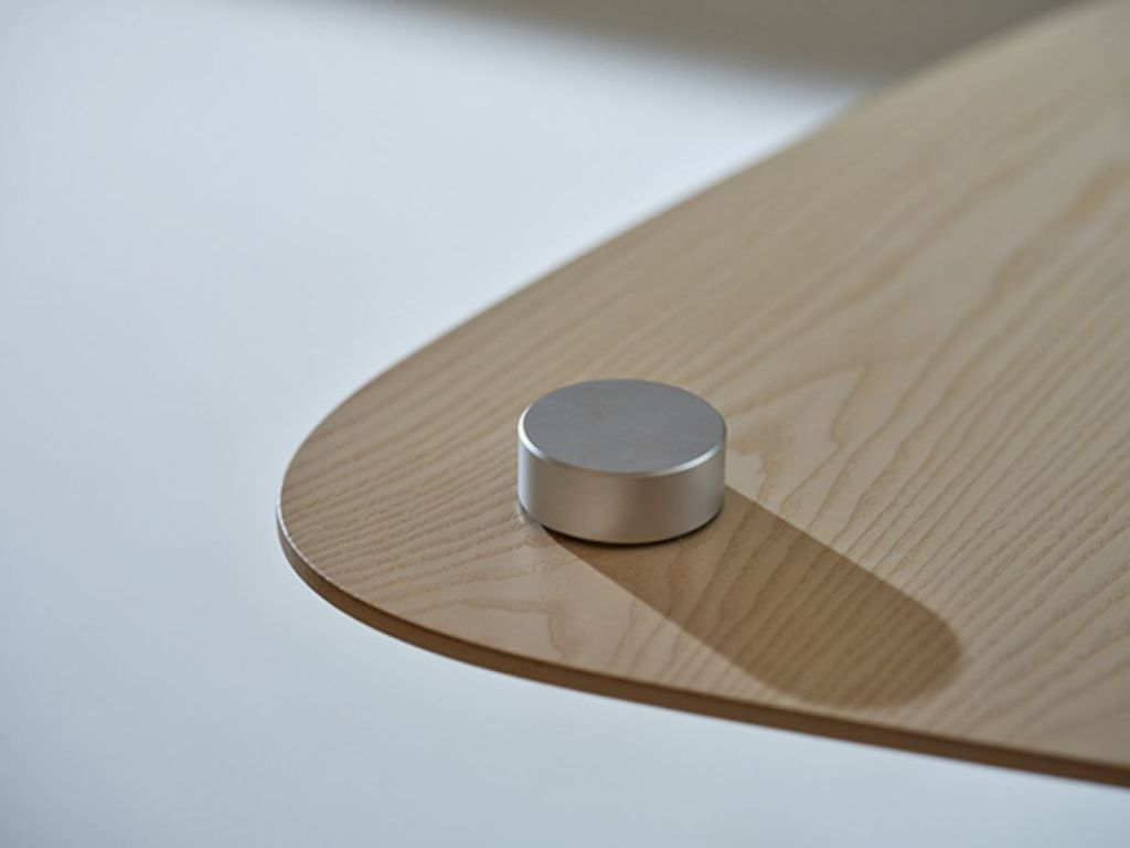 Solo Pillar table with cross base product image 3